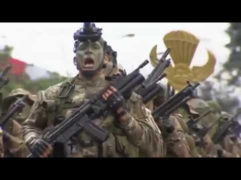 Las Fuerzas Especiales presentes en el Desfiles Militar por Fiestas Patrias.