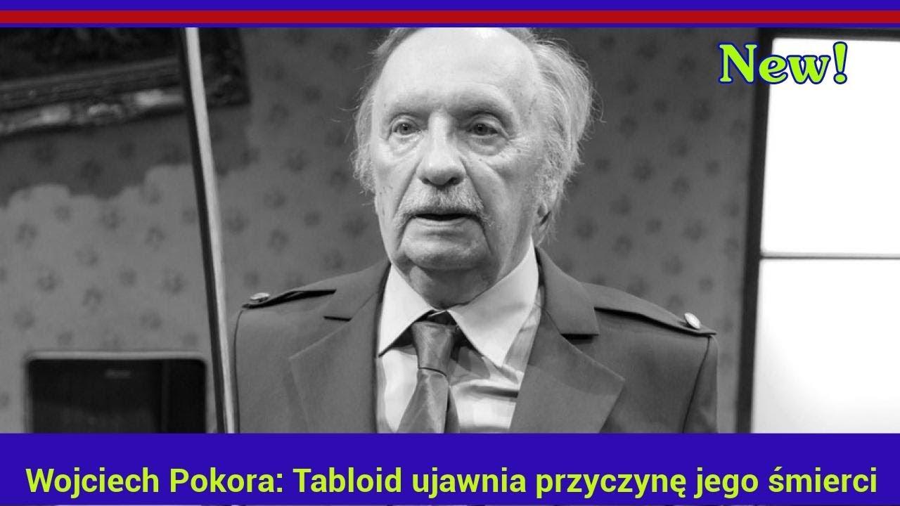 Wojciech Pokora: Tabloid ujawnia przyczynę jego śmierci