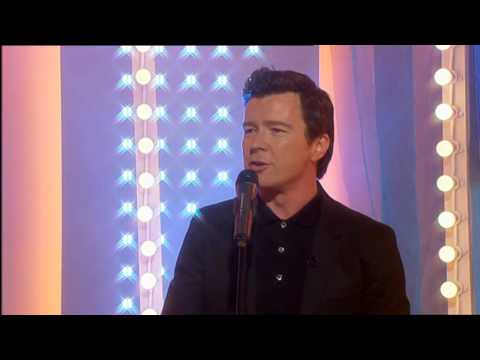 Rick Astley Sings   Never Gonna Give You Up  This Morning