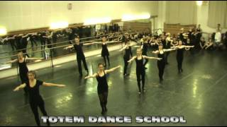 TOTEM DANCE SCHOOL - 20.02.12 - Открытый урок группа jazz-modern (basic)