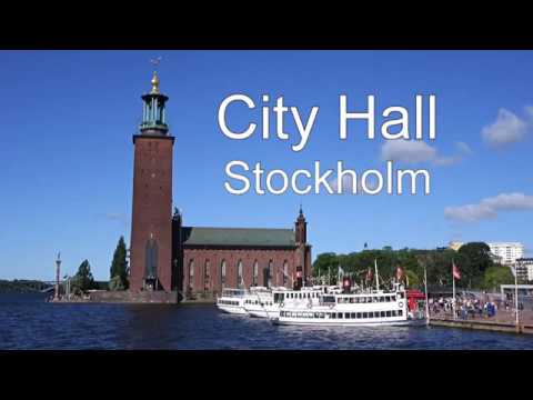 A visit to Stockholm City Hall, Gamla Stan and the Metro Art Gallery