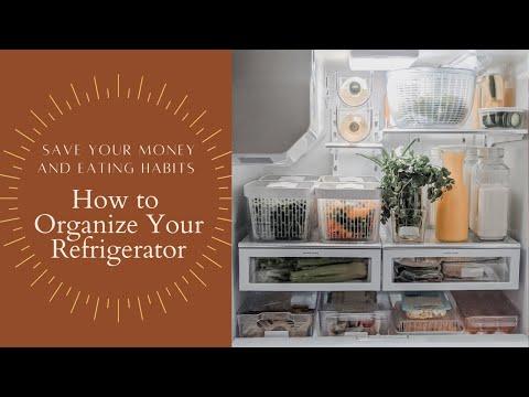 Refrigerator Organization   Tips on How to Organize Your Refrigerator + Fridge Tour