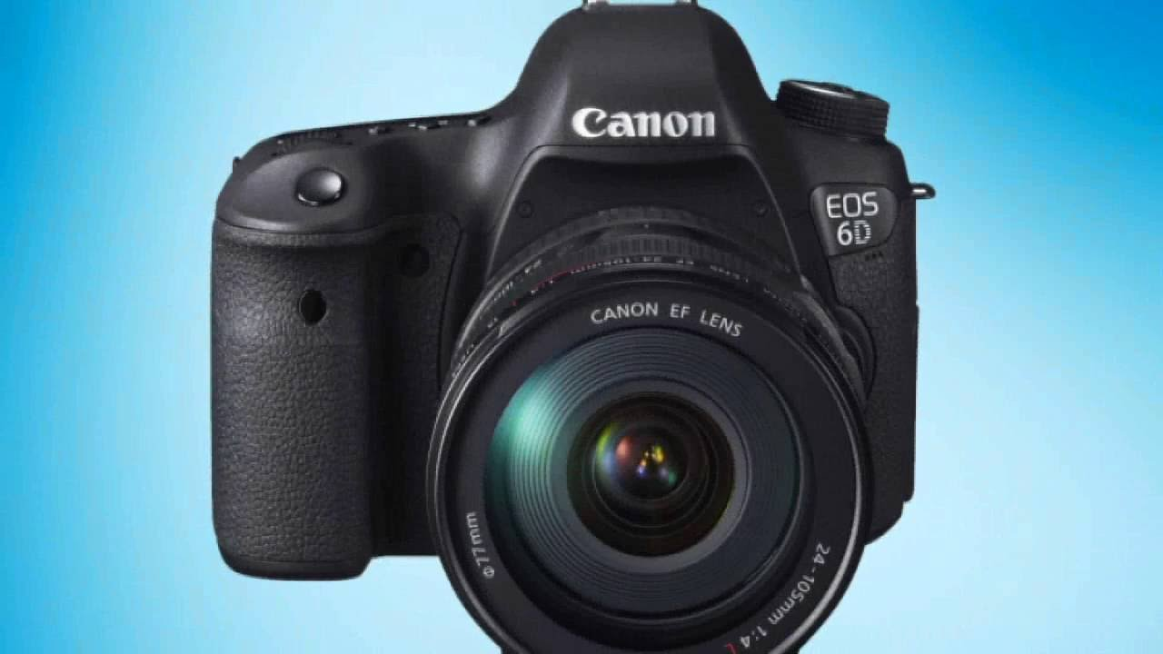 Canon EOS 6D Vollformat Digital-SLR Kamera - Unboxing - YouTube
