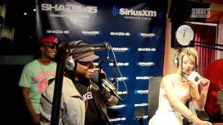 Iggy Azalea Freestyles on Sway in the Morning