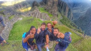 1 year backpacking through 24 Countries around the World / Say hello to the World / GoPro Selfie