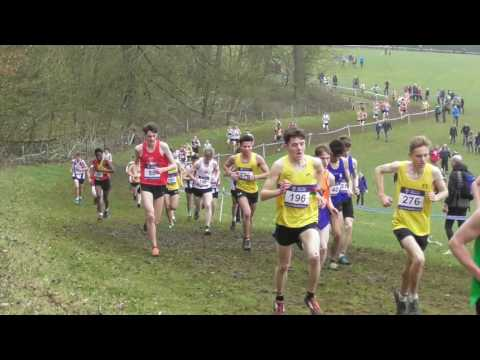 Under 20 Men UK Inter Counties National Cross Country Championships 11032017