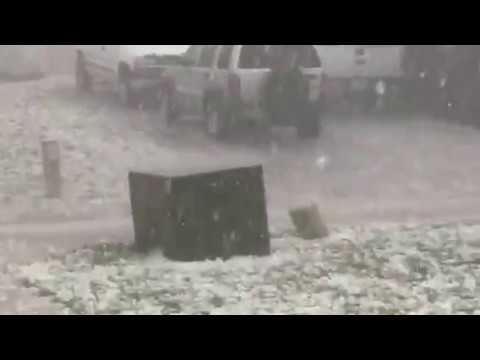 Hail in Wylie TX 4/11/16
