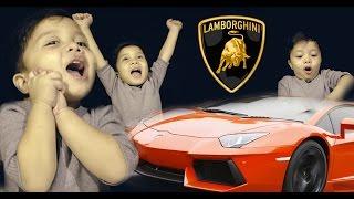 BABY GOT LAMBORGHINI!!!