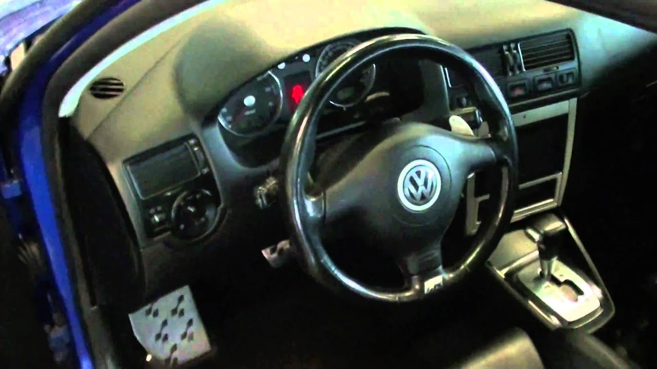 Vw golf r36 introduction youtube for Lederen interieur golf 4