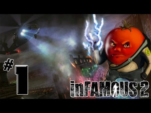 Прохождение inFamous 2: 1я часть [Начало?...]