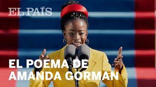 La poeta Amanda Gorman recuerda el poder de la palabra en la investidura de Biden
