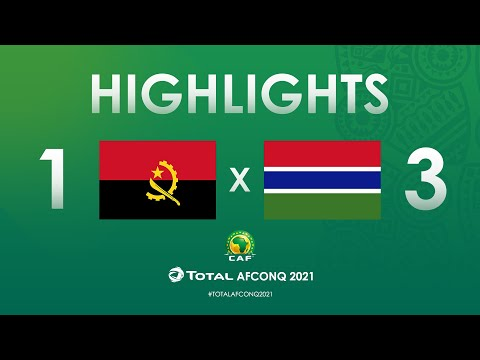 HIGHLIGHTS | #TotalAFCONQ2021 | Round 1 - Group D: Angola 1-3 Gambia