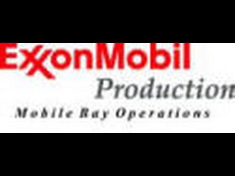 ExxonMobil Mary Ann gas plant demolition day 1