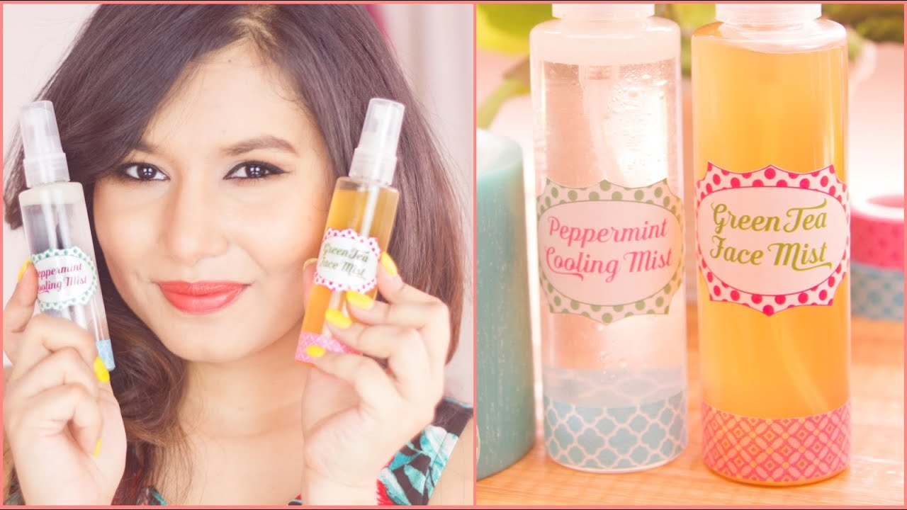 Diy face mist for oily dry skin diywithsonal youtube solutioingenieria Image collections