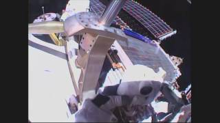 NASA Astronauts Conduct Second Spacewalk in Two Weeks Outside the Space Station