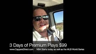 FREE NBA & MLB World Series Sports Picks Tuesday 10:22:19