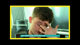 Vamps Connor ball is reduced to tears this morning after admitting to crippling anxiety ruin your l