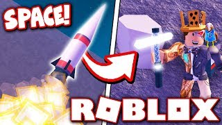 ROBLOX MINING SIMULATOR... IN SPACE?! *NEW PLANETS!*