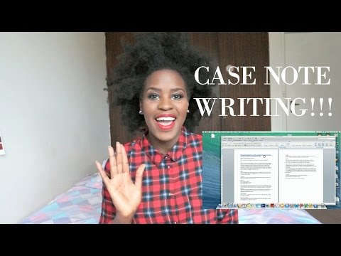 Five Tips For Writing Case notes (Example of a case note) | SOCIAL WORK