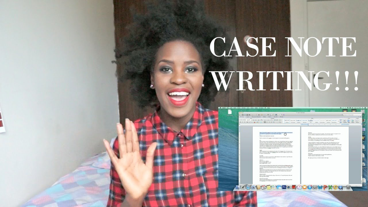how to write good case notes