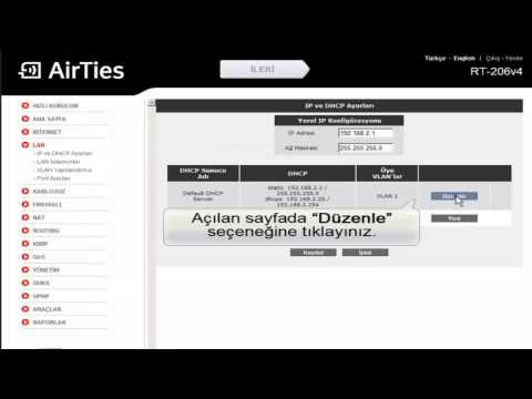 airties 5650 default password