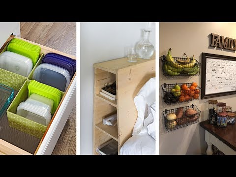 22 Super Awesome Storage Suggestions for Apartment Dwellers