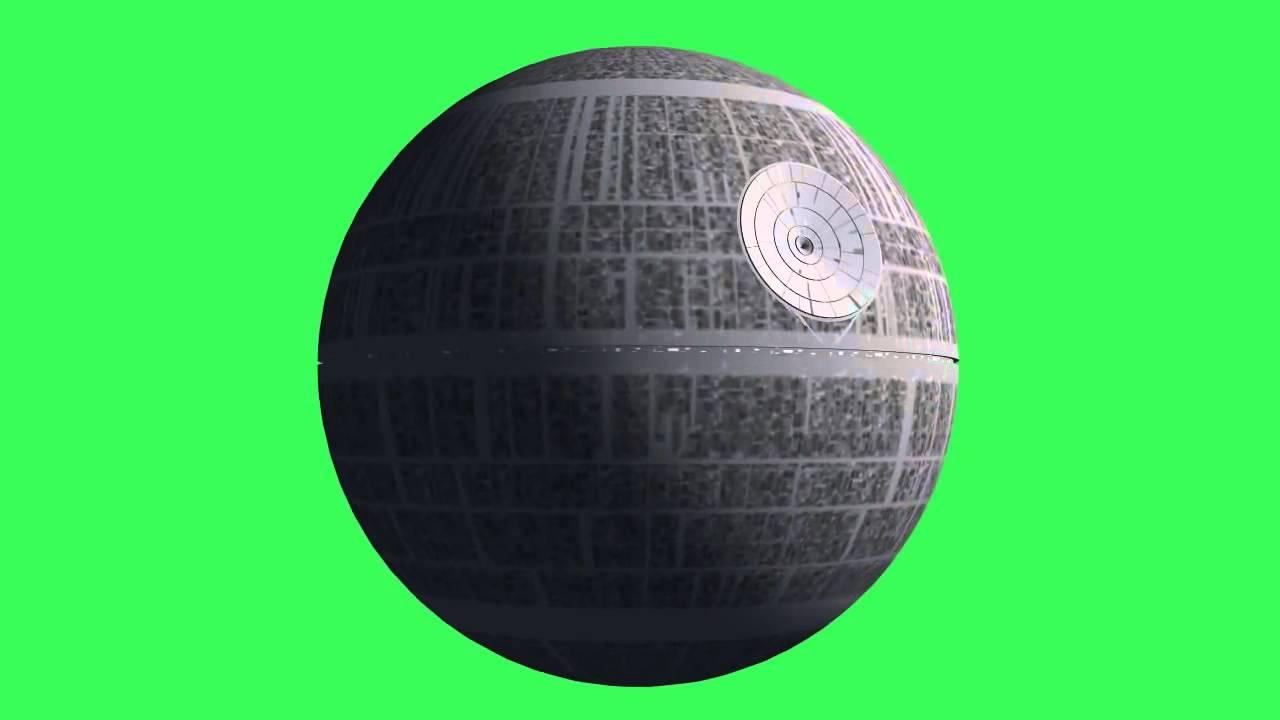 Starwars 2 Fond Vert L étoile Noir Youtube