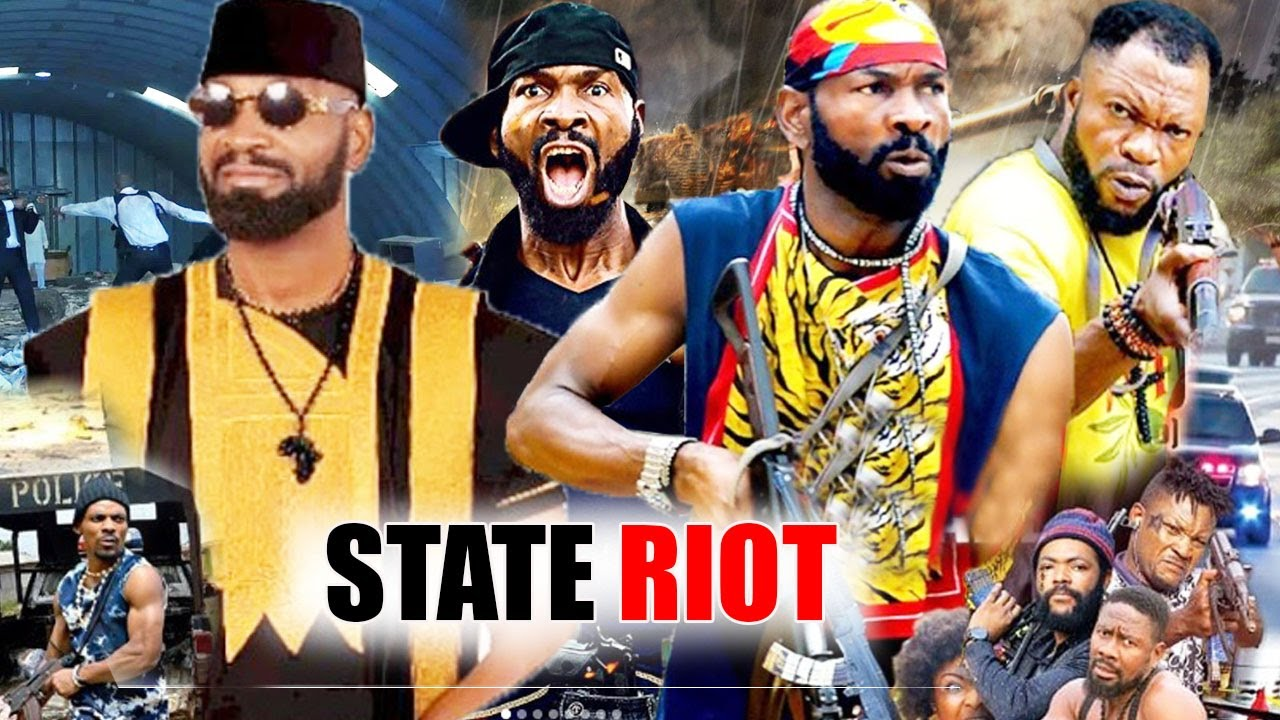 Download STATE RIOT season 1 - [NEW HIT] Sylvester madu Latest Nigeria Nollywood Action Movie/African Movie