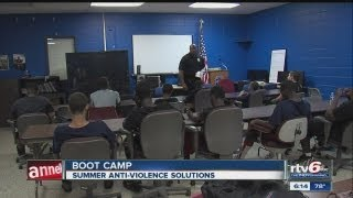 At-risk teen camp aims to keep Indianapolis kids out of trouble