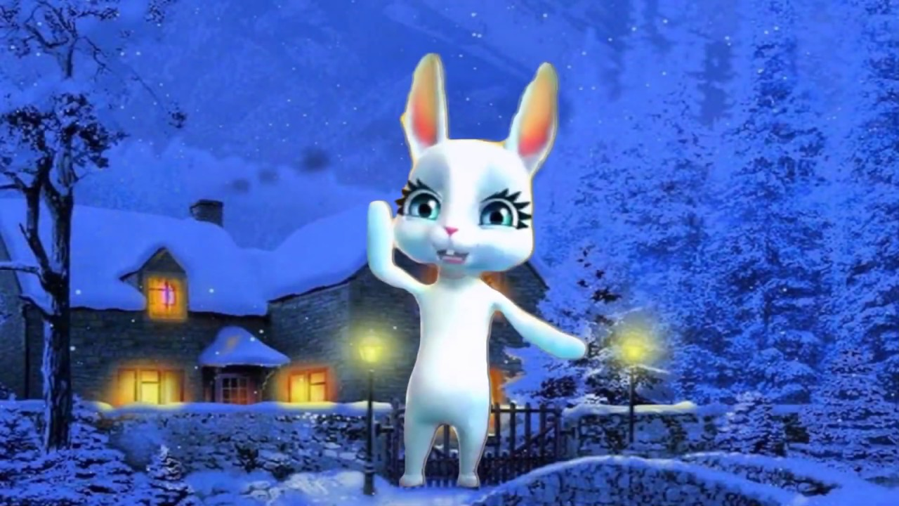 Поздравления зайца с рождеством