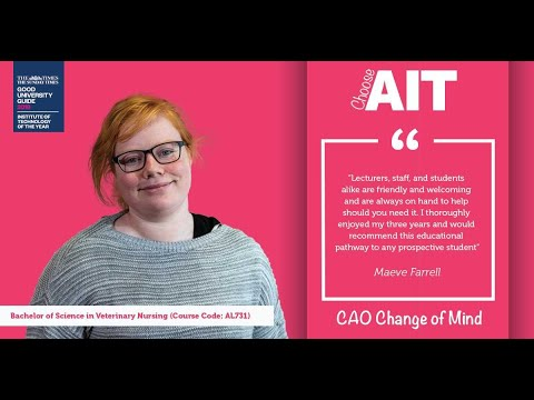 AL731 - Veterinary Nursing - Athlone Institute of Technology