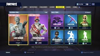 MEDIC SKINS AND LOVE RANGER! | DAILY ITEM SHOP TODAY! | FORTNITE BATTLE ROYALE (16/10/2018)