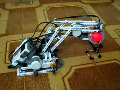 Lego Mindstorms NXT - Robo Arm - YouTube