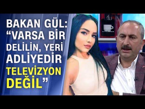 Adalet Bakanı Gül, Aleyna Çakır davasını değerlendirdi!