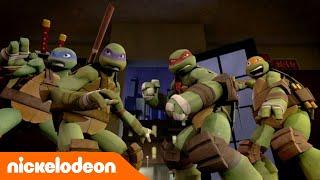 Черепашки-ниндзя | Лиловые драконы | Nickelodeon Россия