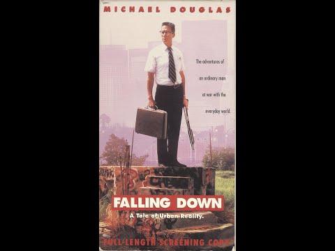 Opening to Falling Down 1993 Screener VHS