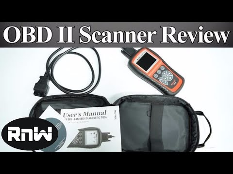 Entry Level OBD II Scanner for The DIY'er - Engine, ABS and SRS Code Scanner