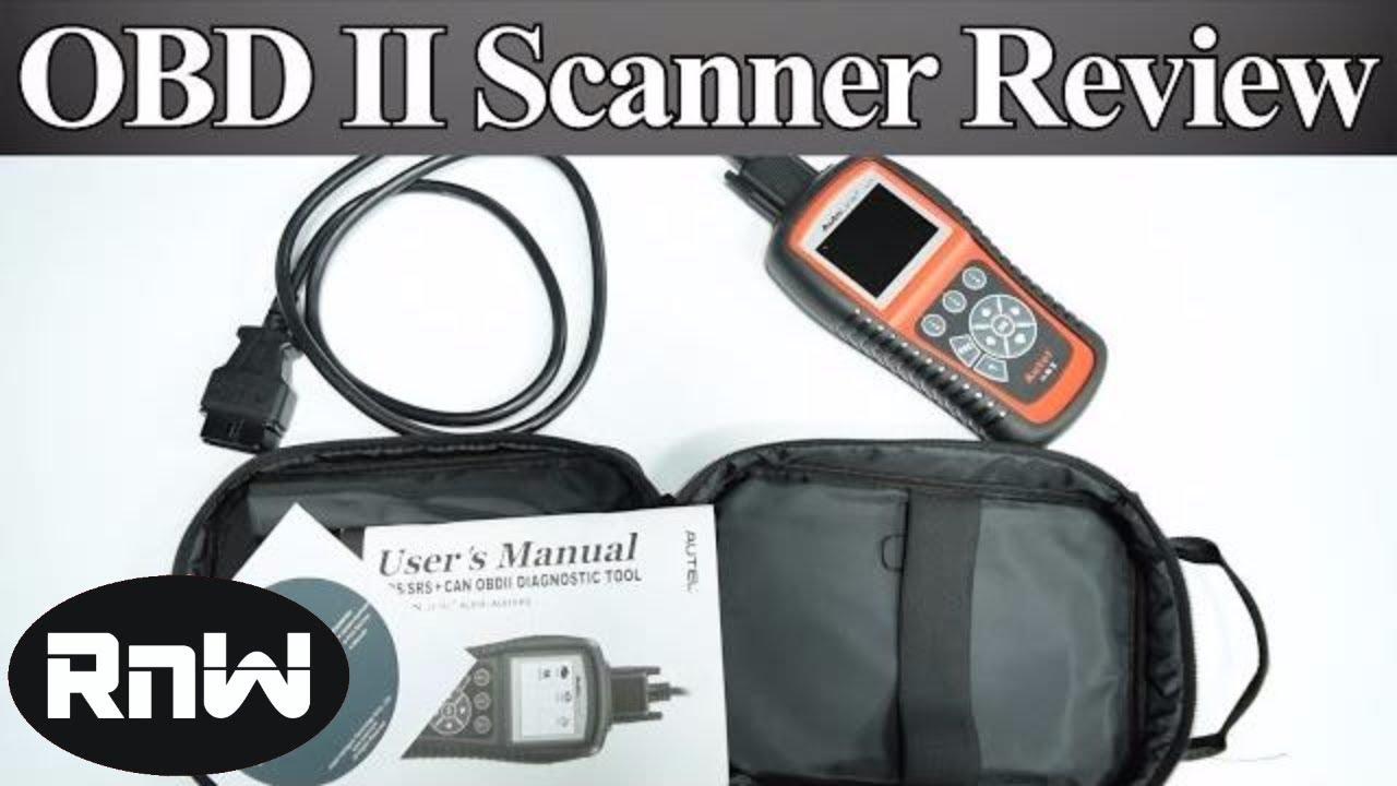 Entry Level OBD II Scanner for The DIY'er - Engine, ABS and SRS Code Scanner