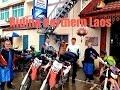Motorcycle riding through Northern Laos