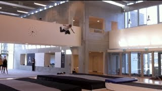 Indoor Parkour And Freerun Training