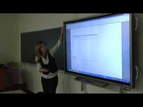 Sharp Interactive Display Training