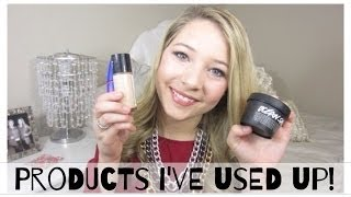 January/February Empties | Products I've Used Up! Thumbnail