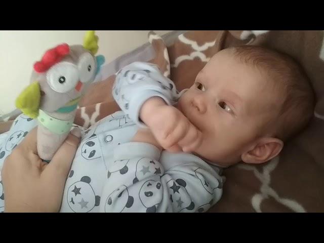 Влог. Ребенок в 2,5 месяца. Развитие. Общение с братом.