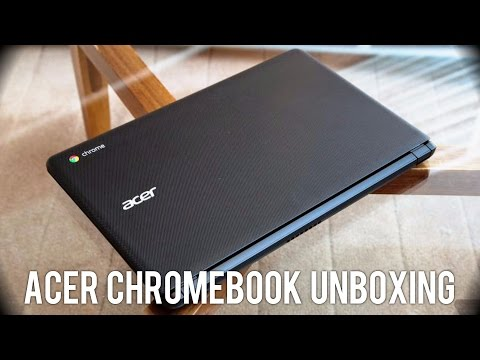 Acer Chromebook 15 Unboxing [HD] 1080p