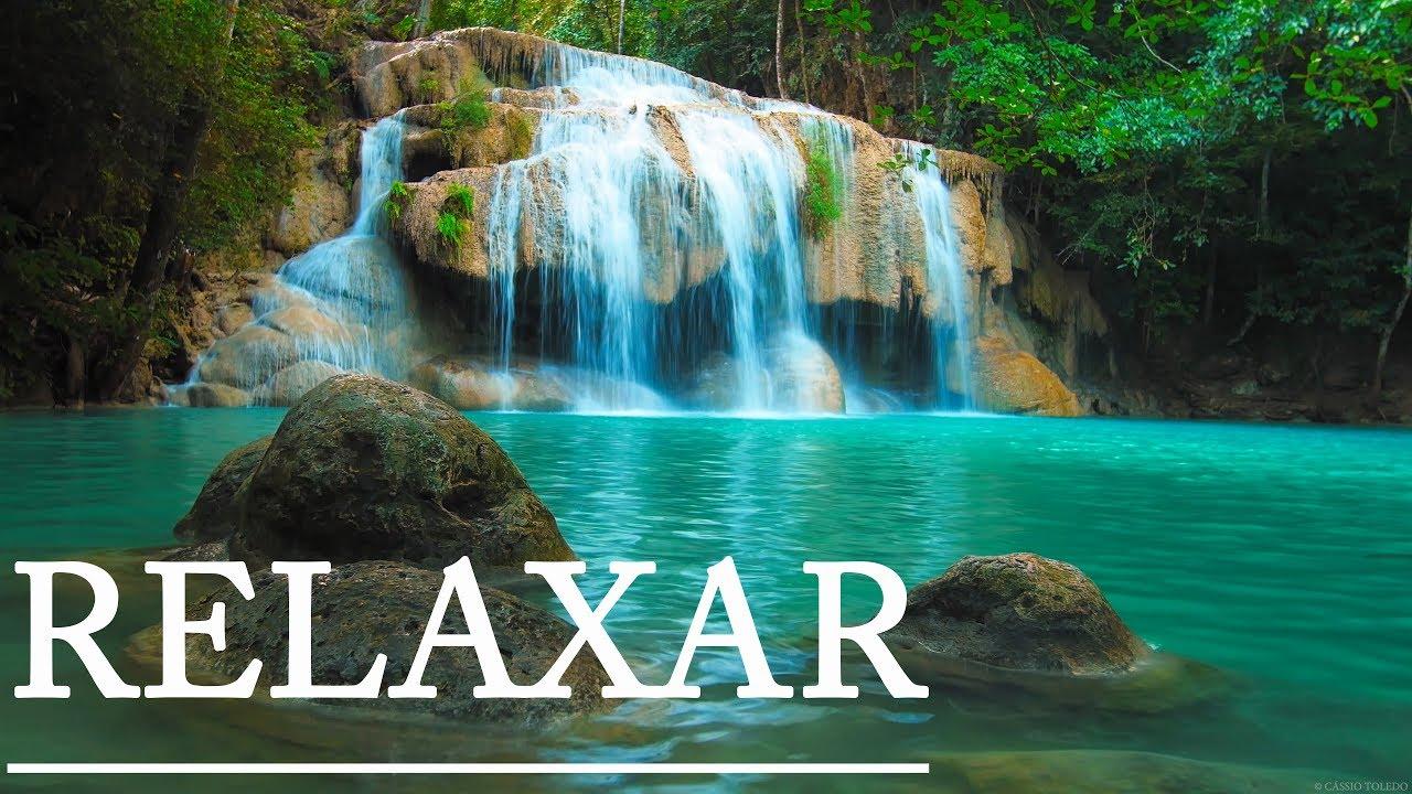 Música Para Relaxar Cachoeira Relaxante E Música Acalmar A Mente Youtube
