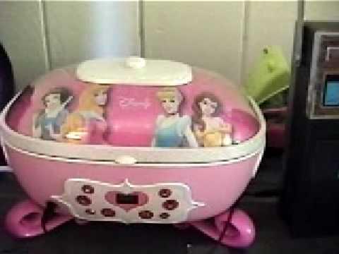 My Nieces 2005 Disney Princess CD Player YouTube