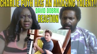David Dobrik - CHARLIE PUTH HAS AN AMAZING TALENT!! REACTION
