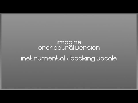 Ariana Grande - Imagine (Instrumental + Backing Vocals) (Orchestral/Holiday Version) [Lyric Video]