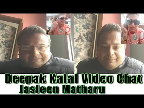 Deepak Kalal VIdeo Chat With Jasleen Matharue | Must Watch