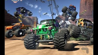 Monster Jam Urban Assault / 4x4 Truck Racing / Nintendo Wii Games / Gameplay #2